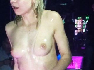 Bulgarian Drunk Whore At A Party
