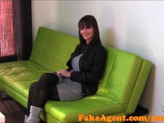 Fakeagent Hd Massive Natural Tits Amateur In Casting