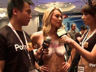 Pornhubtv Natalia Starr Interview At 2014 Avn Awards