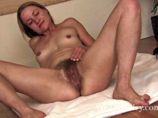 Hairy Blonde  Porn