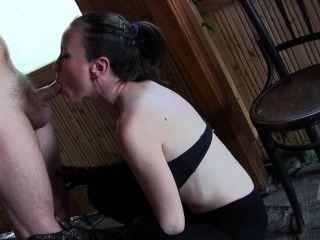 Hot Young Milf Headjob And Facial Cum Plaster. Bj Queen Sylvia Chrystall.