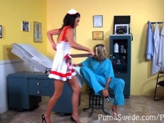 Dd Doctor & Nurse?!! Puma Swede & Jessica Jaymes With Nicole Aniston!!