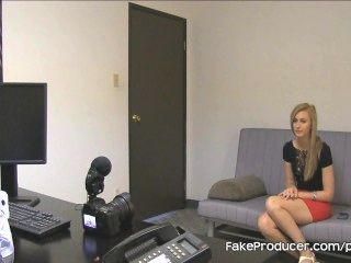 Tall Blonde Alexa Grace Sucking Off Fakeproducer And Swallows