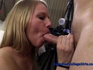 Cute Country Girl Cums, Gets Fucked Hard & Facialed