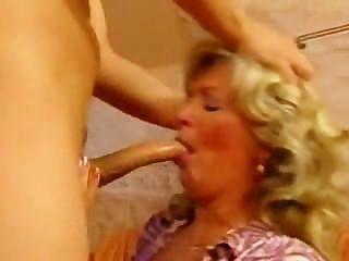 Granny Deepthroat Porn