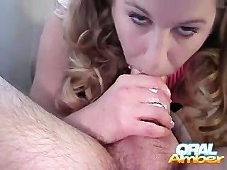 Extremely Hot Oral Creampie!