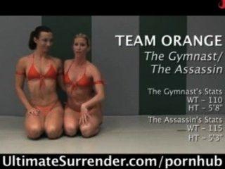 Brutal Naked Tag Team Wrestling Live Audience