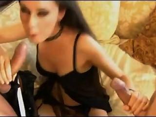 Double Vaginal & Double Barrel Blowjob
