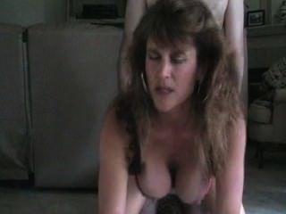 Hot Mom Milf Doggy Style Smoking Sex