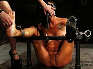 Str!ct Restr@int Sadistic Tickling