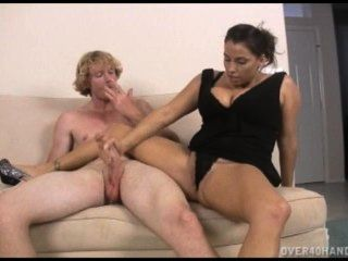 Jenny Wants To Gag On Her Neighbors Fat Hard Cock