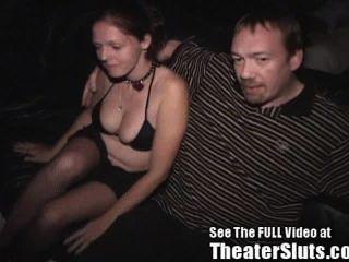 Cum Slut Wife Ass Fucked In Porn Theater