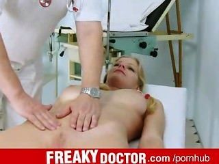 Dirty Doctor Rubs Jenny Clit She Comes Multiple Times
