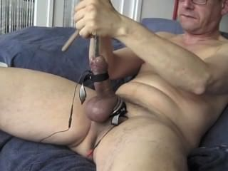 Cock Sounding From Behind
