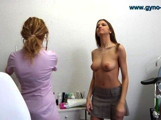 Eufrat Went To Her Doctor For Gynecological Exam