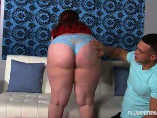 Preggo Plumper Takes Huge Cock In Her Ass