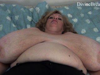 Busty Blond Bbw Milf Jiggles Her Giant Big Boobs Suzie Has Monster Tits