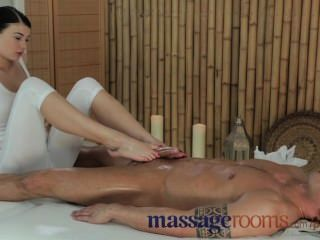 Massage Rooms Young Beauty With Massive Tits Get Fucked Hard By Big Cock