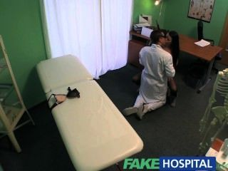 Fakehospital Beautiful Patient Prescribed A Good Wet Fucking