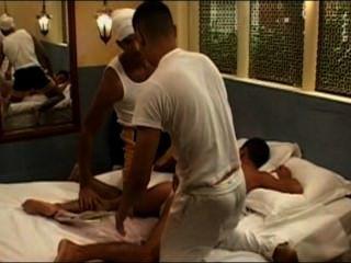 A Massage That Becomes Into A Trio