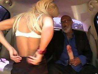 Kacey Jordans Limo Blowjob Kacey Jordan - Older Man