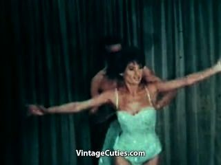 Nude Ballerina Dancing With Her Partner
