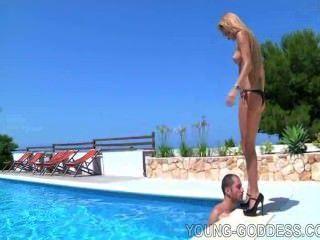 Pool Blonde Worship