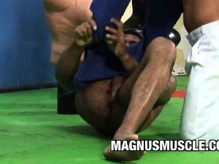Douglas Masters: A Beefy Gym Buddy Anal Session