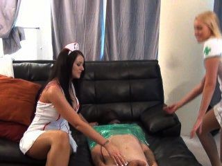 Nurse Alexis And Vanessa Take Care Of A Patient