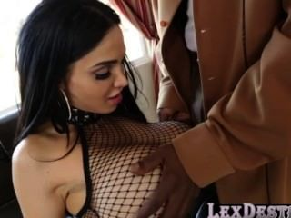 Lex Destroys Amys Tight Shaved Pussy