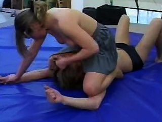 Wrestling Pantyhose Domination