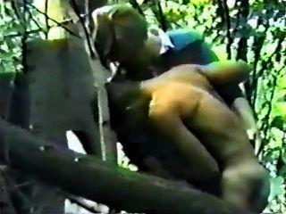 Spycam Rugger Bugger Fucks In Woods