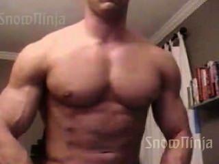 Bodybuilder Brett Mycles Webcam Posing Compilation #1