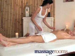 Massage Rooms Clit Play Gives Multiple Orgasms To Young Teen Lesbians