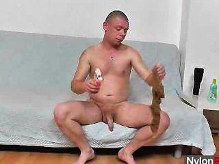 Queer Guy In Pantyhose