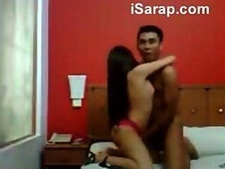 Hot Malaysian Babe Got Drilled