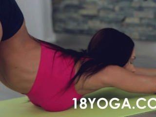 Yoga Teen Kitana Lure Anal Fucked On Ball