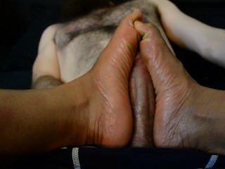 Mistress Koi Oiled Footjob Femdom Dominatrix Clips4sale