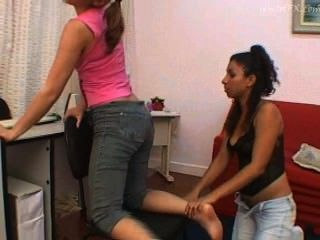 Lesbians Love To Smell Farts !