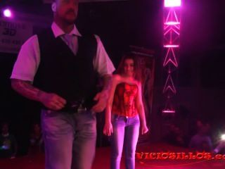 Rob Diesel And Girl From Public Erotic Show On Stage By Viciosillos.com