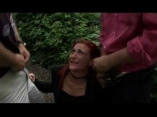 Italian Omar Galanti & Leo In Hard Bound Fuck With Redhead