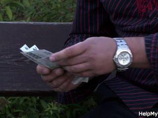 Dude Fucks His Lovely Wife For Money