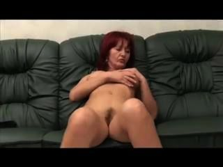 Hairy Double Amputee Daddy Fucking On Sofa