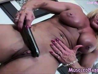 Amazing Mature Bodybuilder Solo Scene