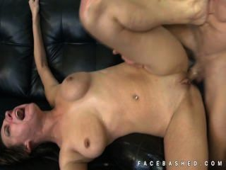 Alora Jaymes Choked By Cock In Throat