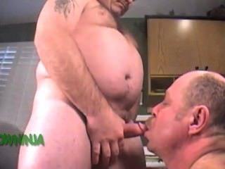 Military Men - Navy Chief Blowjob & Cum
