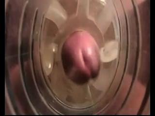 Cumming Inside A Fleshlight