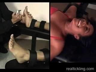 Super-ticklish Porche Tortured