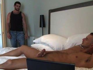 Buddy Caught Whackin To Porn