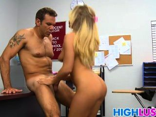 Beautiful Teen Fucked By Her Prof